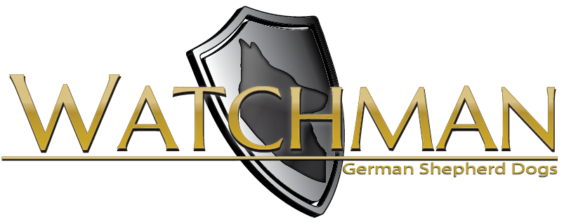 Watchman German Shepherd Dog Breeder Logo